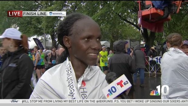Susan Jerotich Wins Women's Division in Blue Cross Broad Street Run