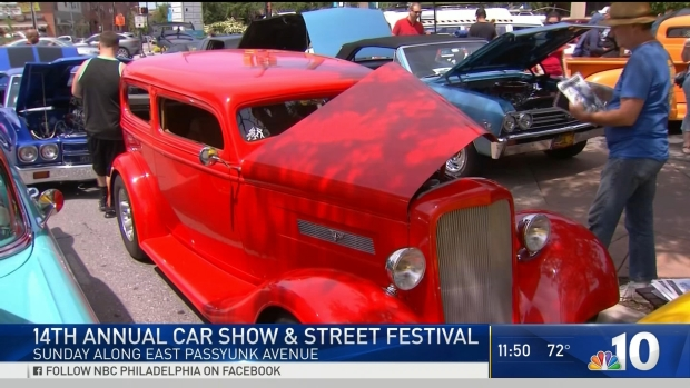 The 14th Annual East Passyunk Car Show & Street Festival