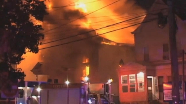 [NY] Massive Fire Rips Through New Jersey Church
