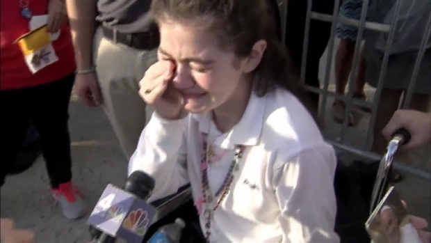 NYC Girl in Wheelchair Blessed by Pope: I Will Walk Again