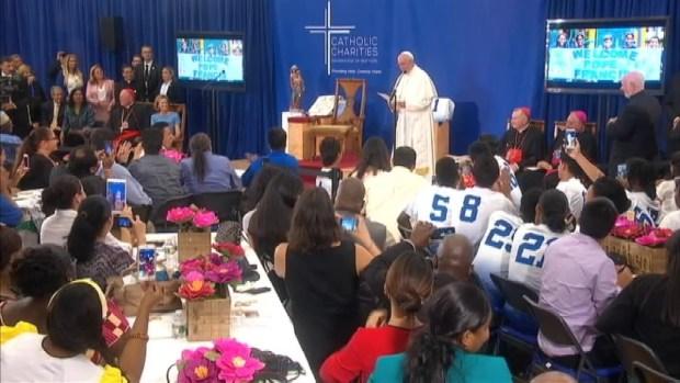 [NATL-NY] Pope Francis Gives Kids Homework: 'Pray for Me'