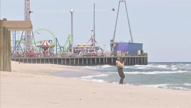 [NY] Brand New Roller Coaster at Jersey Shore's Casino Pier