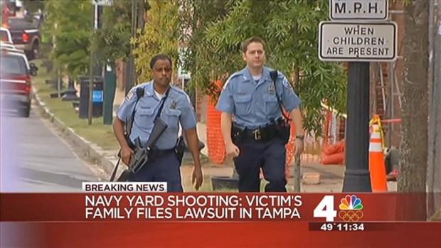 [DC] Family of Navy Yard Shooting Victim Seeks $37.5M