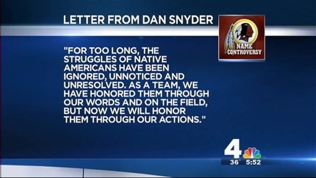 [DC] Redskins Owner Dan Snyder Announces Foundation for Native Americans