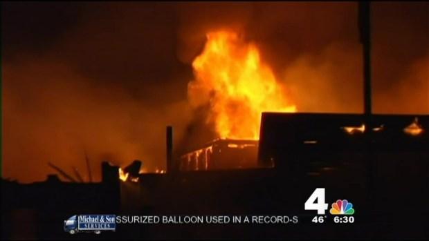 [DC] Crews Battle Massive 3-Alarm Fire in Rockville