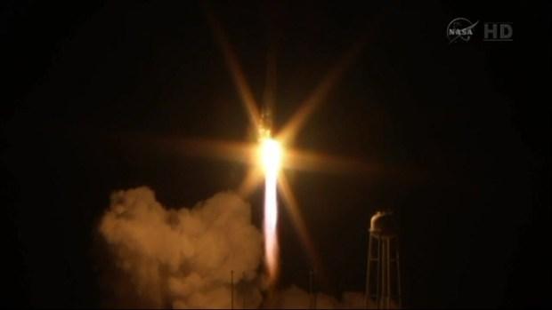 Rocket Antares Explodes on Launch at Wallops Island