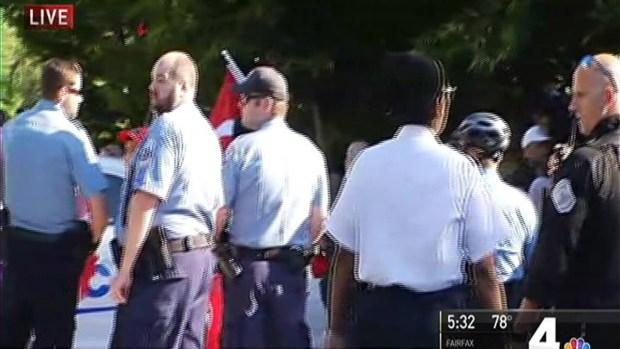 People Hurt at Protest Outside Turkish Ambassador's DC Home