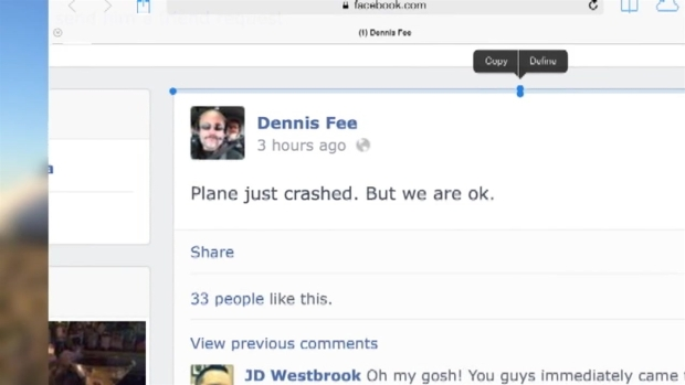 [MI] Social Media Captures Plane Evacuation