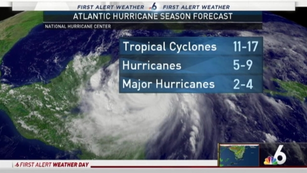 [NATL-MI] NOAA Announces Hurricane Predictions For 2017