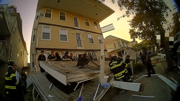 Videos Show Deck Collapse and Rescue Effort in Wildwood