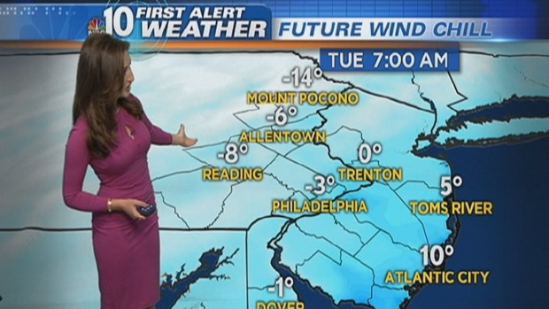 [PHI] NBC10 First Alert Weather: Dangerous Wind Chills Strike