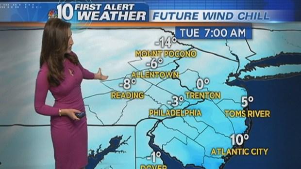 [PHI] NBC10 First Alert Weather: Dangerous Wind Chills Strike