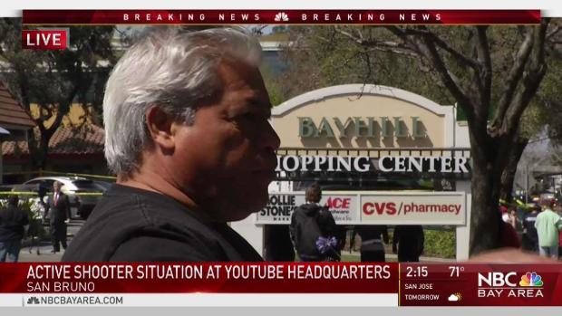 [NATL-BAY] Witness Describes YouTube HQ Shooting Victims
