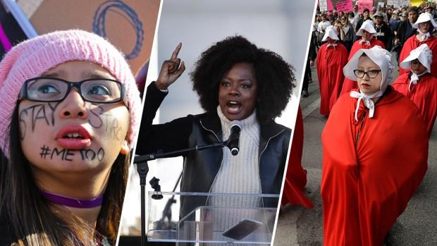 [NATL] PHOTOS: 2018 Women's Marches Across the World