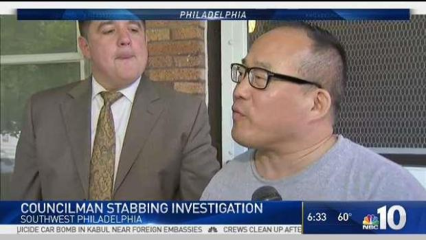 Wounded Philadelphia Councilman: 'Did You Just Stab Me?'