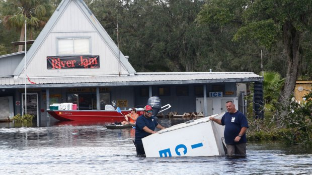 Eight dead in Florida nursing home following Hurricane Irma