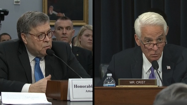[NATL] AG Barr: 'I'm a Lawyer. I'm Not in Charge of Health Care'