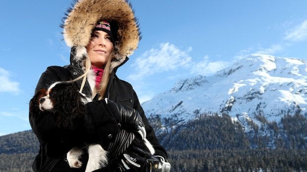 Lindsey Vonn Talks About Special Relationship with Her Dog Lucy