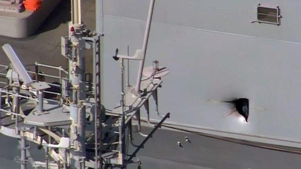 [DGO] Drone Damages Ship, Injures Sailors
