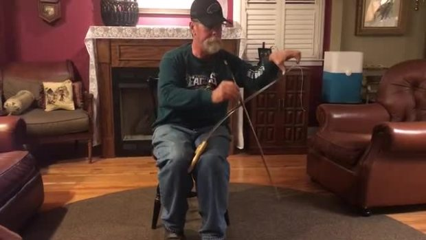 'Fly, Eagles Fly' on Musical Saw