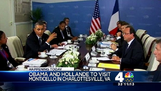 [DC] French President Hollande Going Stag to State Dinner
