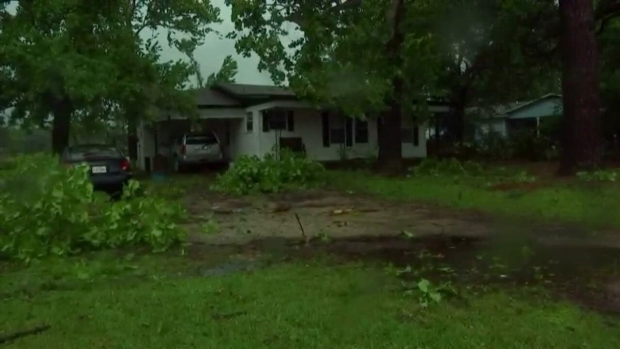 Couple Talks About Seeing Canton Tornado