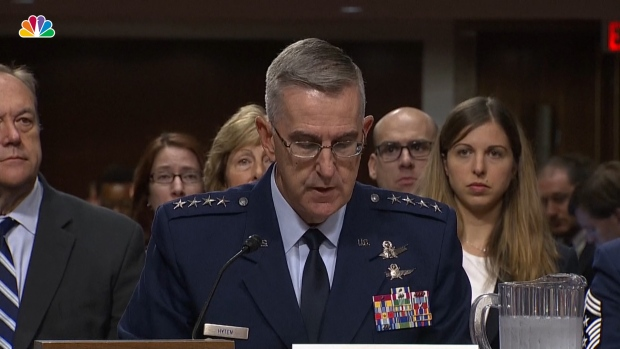 [NATL] Pentagon Nominee Gen. John Hyten Denies Sexual Misconduct Allegations