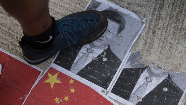 [NATL] Hong Kong Protester Shot as China Marks National Day