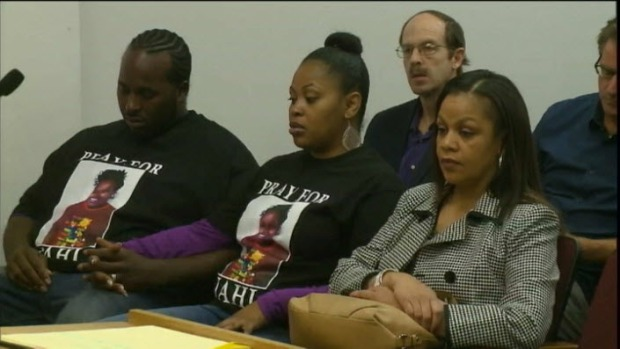 [BAY] Jahi McMath's Family Must Arrange Transfer from Children's Hospital