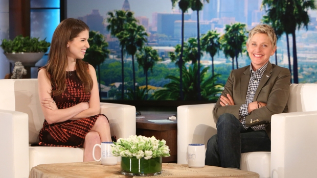 "[NATL] Anna Kendrick talks ""Pitch Perfect 2"" Posters with ""Ellen"""