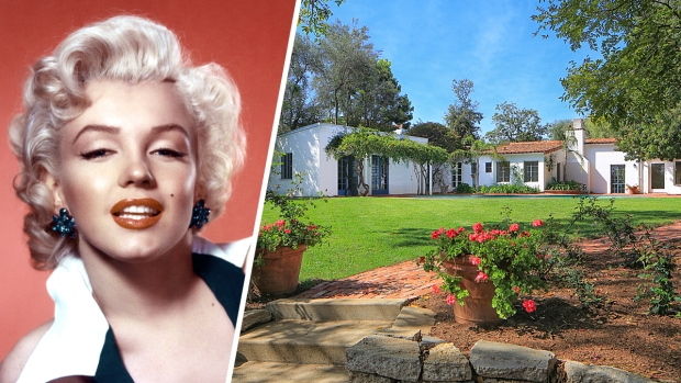 Home Where Marilyn Monroe Died Is for Sale