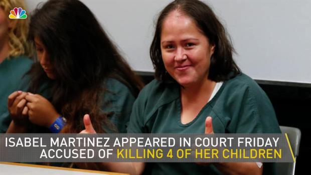 [NATL-NY] Woman Accused of Killing Children Smiles in Court
