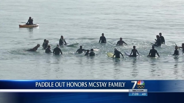 [DGO] Paddle Out for McStay Family