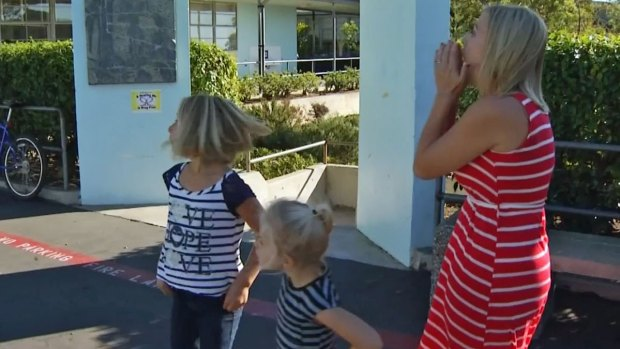 [DGO] Surprise Military Homecoming at Sunset View Elementary