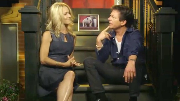Michael J. Fox Talks New Role as News Anchor
