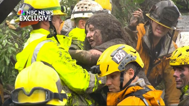 Firefighters Rescue Montecito Girl Trapped for Hours