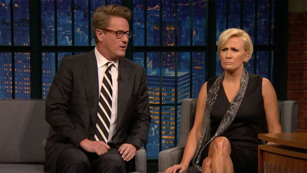 [NATL] 'Late Night': Trump Unfollowed 'Morning Joe' Hosts on Twitter