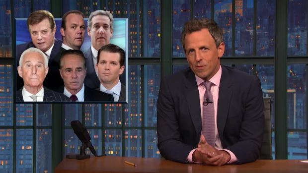 [NATL] 'Late Night': A Closer Look at Trump's Week of Corruption Scandals