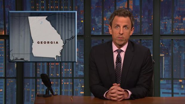 [NATL] 'Late Night': Checking in on Minority Voter Suppression