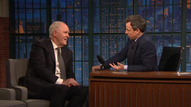 [NATL] 'Late Night': John Lithgow Rescued an Old Woman During a Live Show