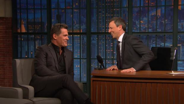 [NATL] 'Late Night': Mark Ruffalo Convinced Josh Brolin to Play Thanos in 'Avengers: Infinity War'