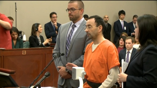 [NATL] Ex-USA Gymnastics Doctor Pleads Guilty to Sexual Assault Charges