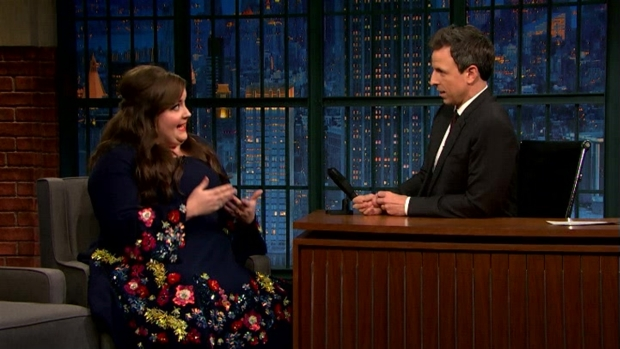 [NATL] 'Late Night': Aidy Bryant Passed Out After an 'SNL' Party