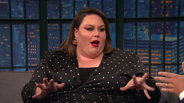[NATL] 'Late Night': Chrissy Metz's Lunch With Oprah