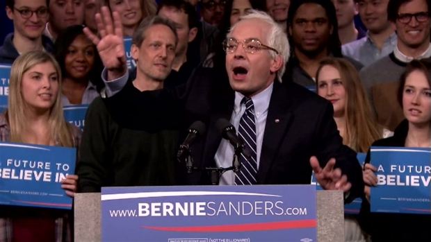 [NATL] Jimmy Fallon Does Bernie Sanders' New Hampshire Victory Speech