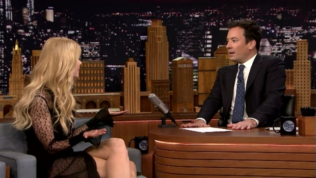 [NATL] 'Tonight Show':Jimmy Fallon and Nicole Kidman Have Another Awkward Interview