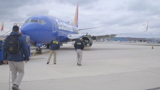 Southwest Jet Engine Showed 'Fatigue,' Debris Pieces Found: NTSB