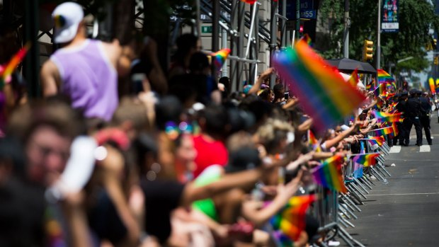 [NATL]Rainbows Shine as Cities Across the US Celebrate Pride