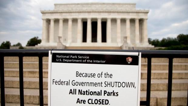 [NATL] History of Government Shutdowns