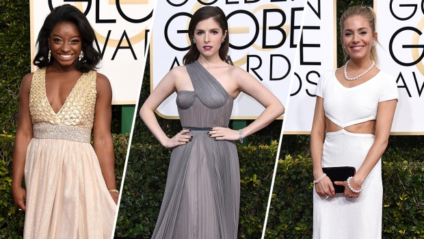 [NATL] Top Red Carpet Looks: 2017 Golden Globes Arrivals